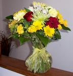 Assorted Flowers in a Vase